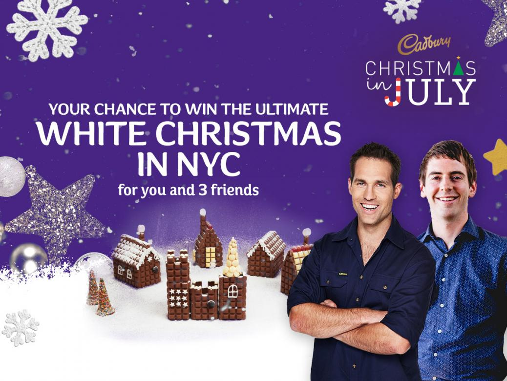 WIN the Ultimate White Christmas in New York!