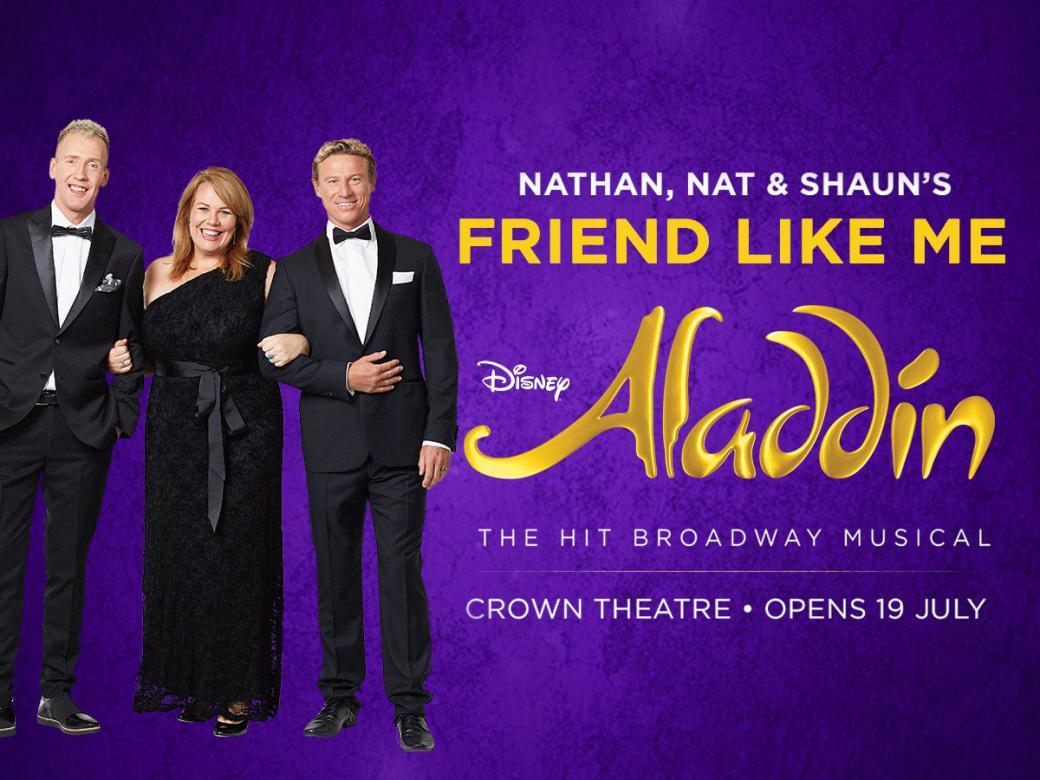 Nathan, Nat & Shaun's Friend Like Me!
