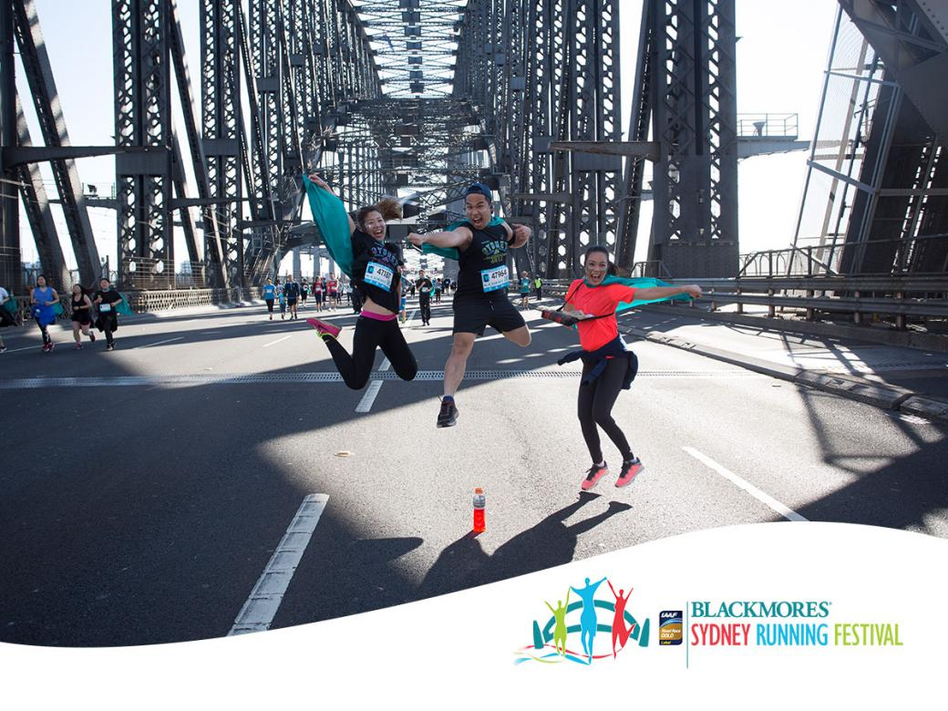 Win your entry to the Blackmores Sydney Running Festival!