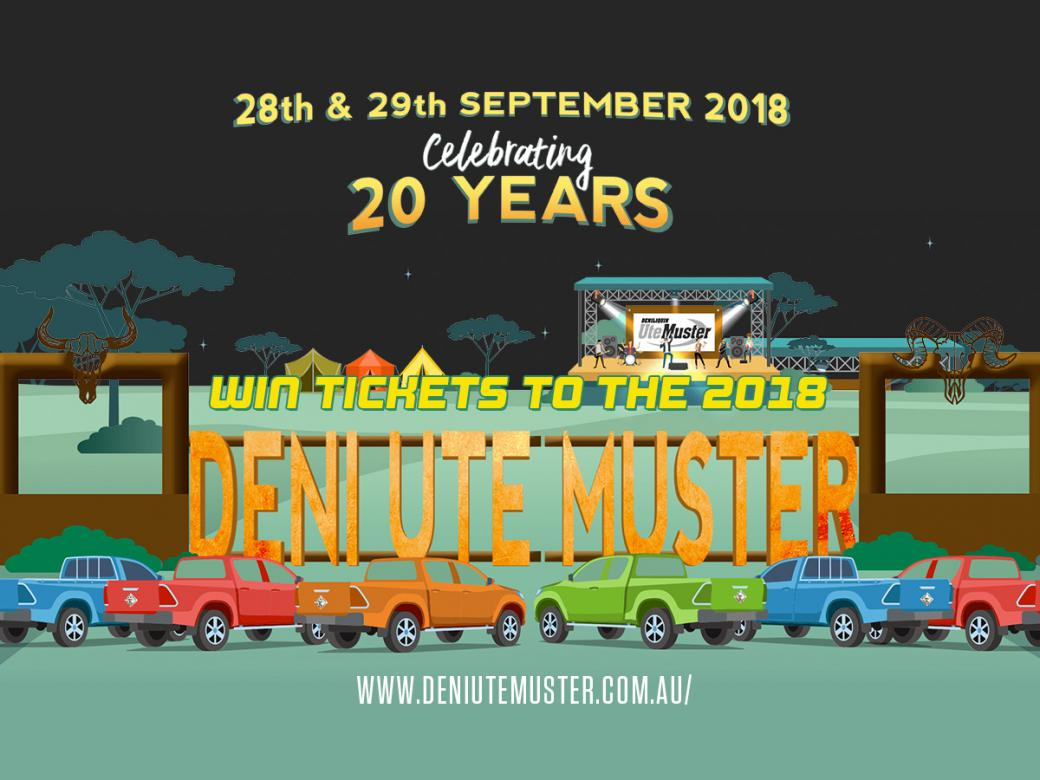 The Deni Ute Muster is one weekend packed full of good times!