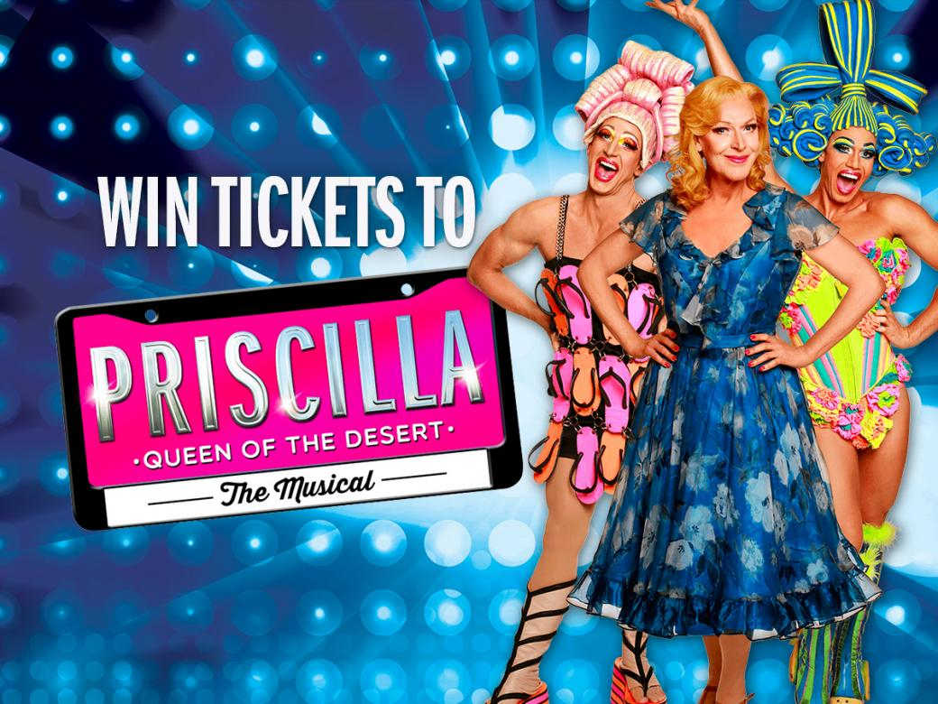 PRISCILLA QUEEN OF THE DESERT is coming to Brisbane for the very first time!