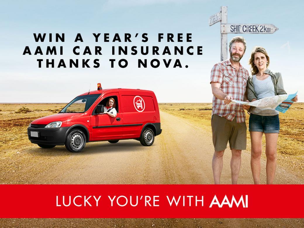 Win a year's free AAMI car insurance