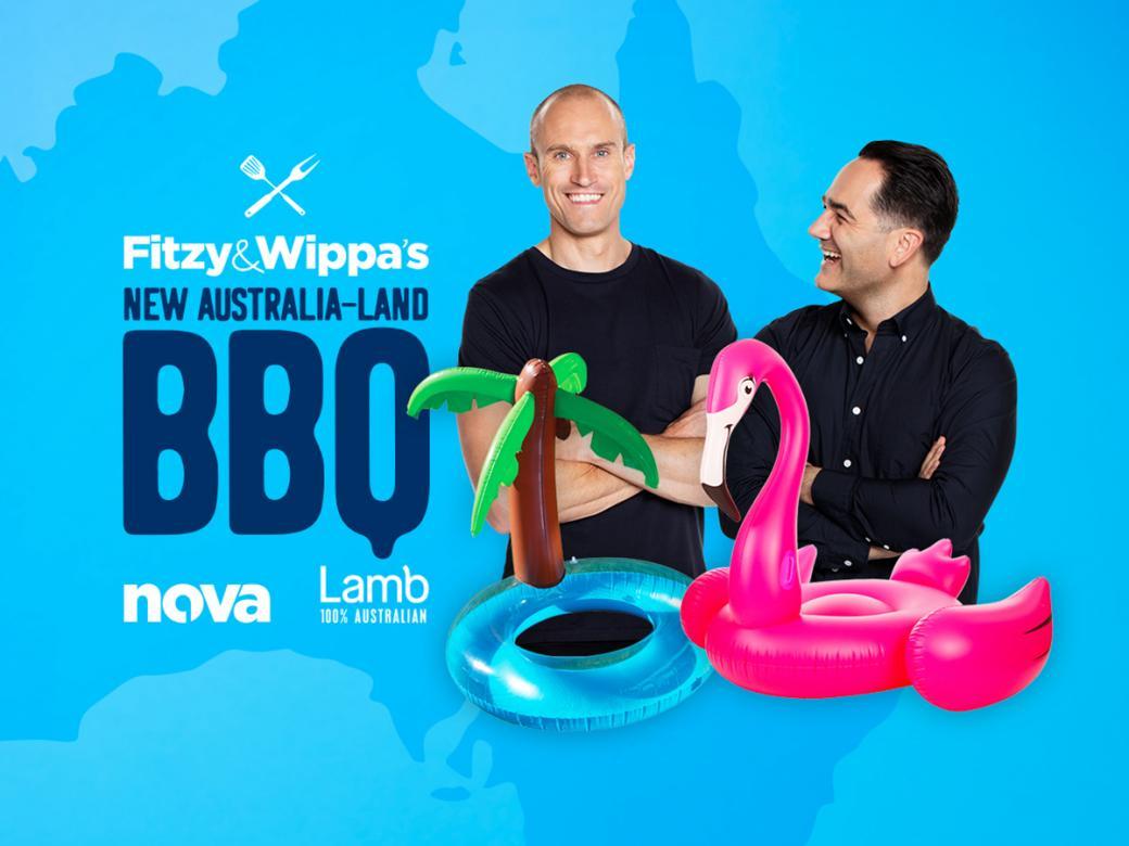 Win tickets to Fitzy & Wippa's New Australia-land BBQ!