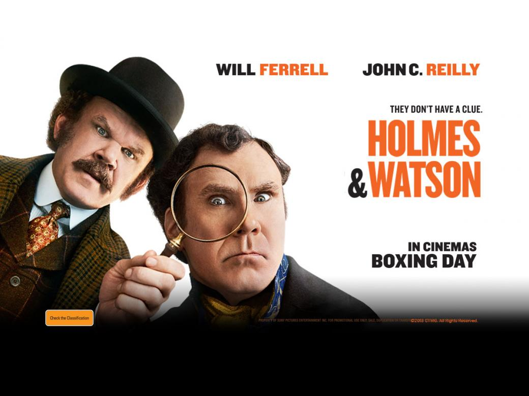 WIN a double pass to see HOLMES & WATSON