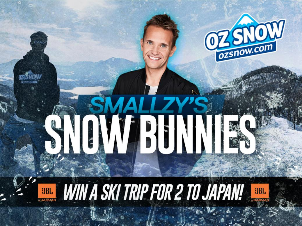 Smallzy's Snow Bunnies! Win a Ski Trip For Two To Japan
