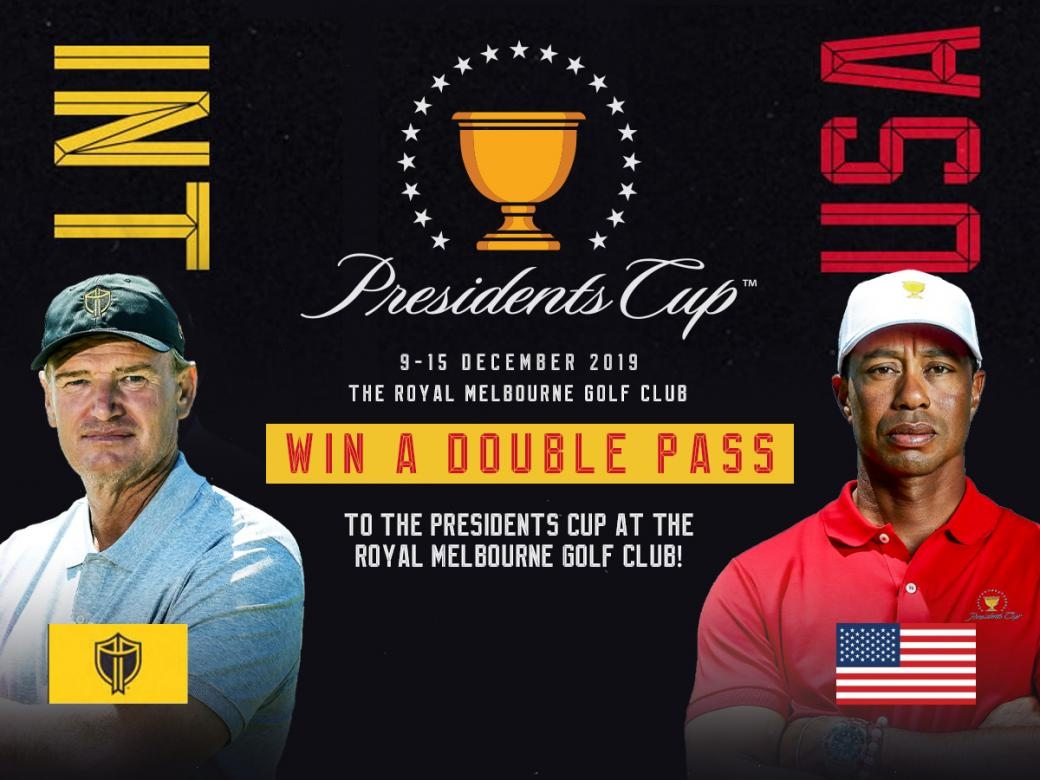 Win A Double Pass To The Presidents Cup!