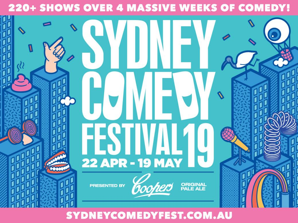Win Your Way To The 2019 Sydney Comedy Festival!