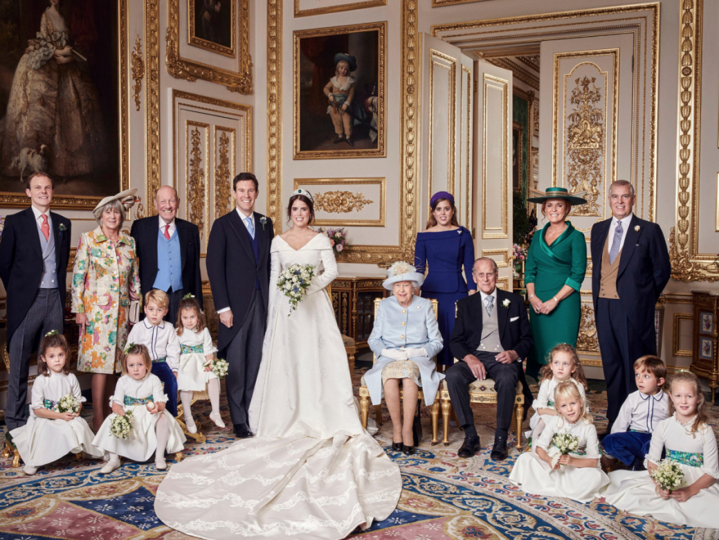 The shocking detail in Princess Eugenie's official wedding photos