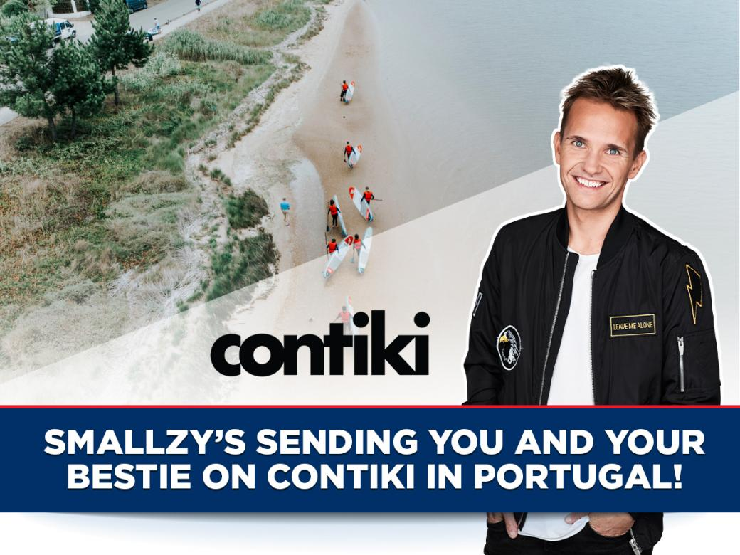 Smallzy's Sending You And Your Bestie On Contiki In Portugal!