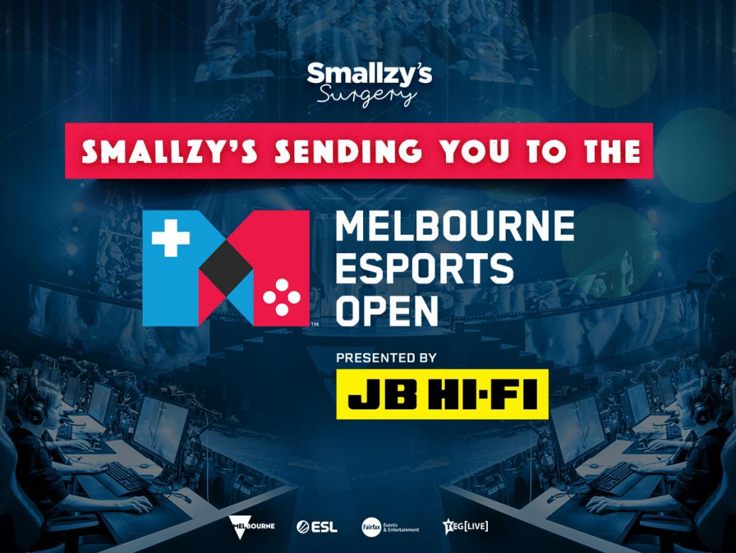 Smallzy's Sending You To The Melbourne Esports Open!