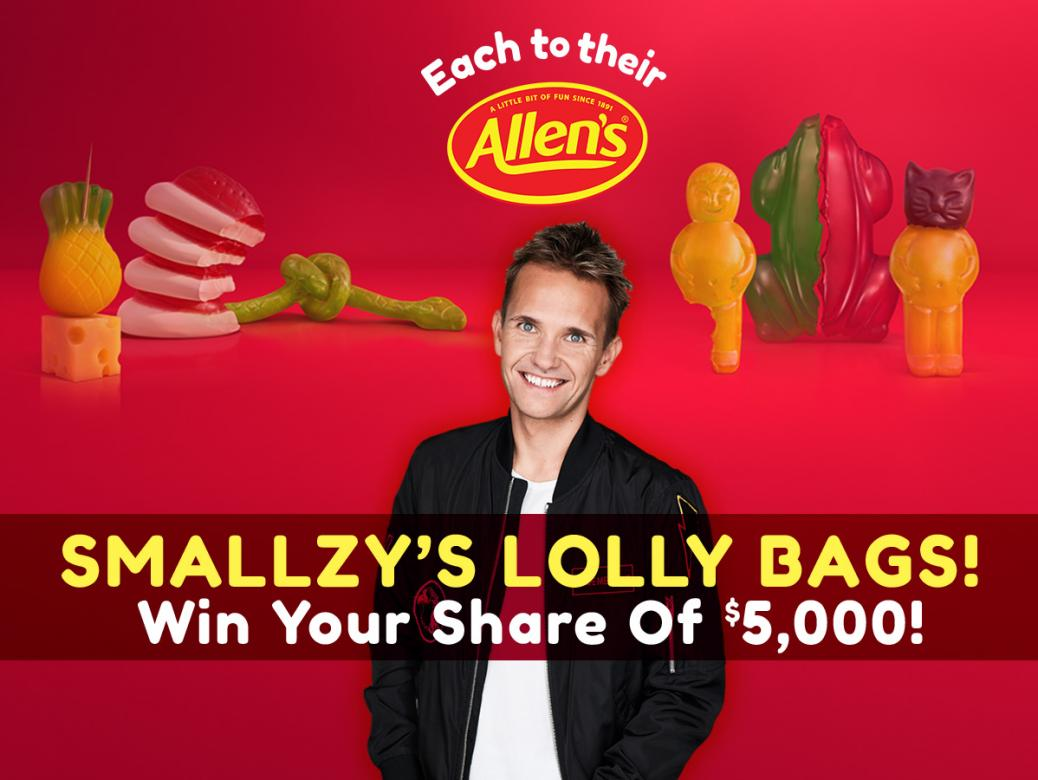 Smallzy's Lolly Bags! Your Chance To Win A Share Of $5,000!