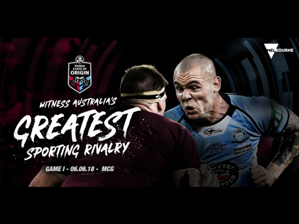 Win your way to see the NRL State of Origin Game in Melbourne!