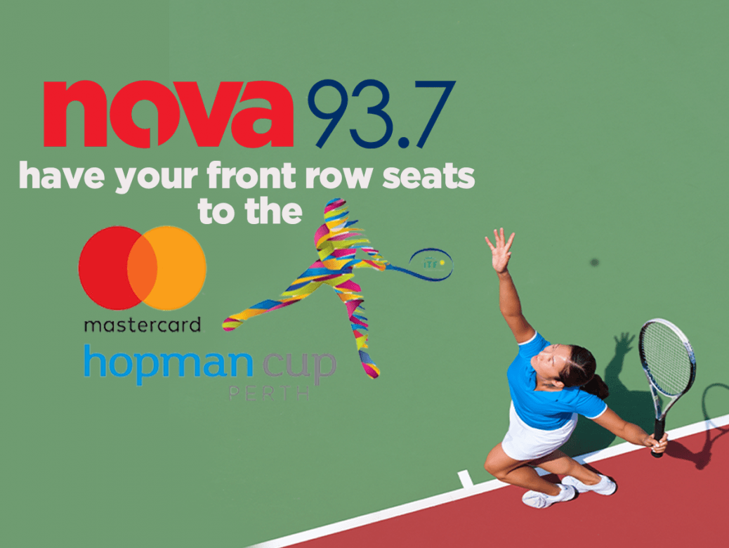How would you like to win front row seats to the Mastercard Hopman Cup & $200 cash?
