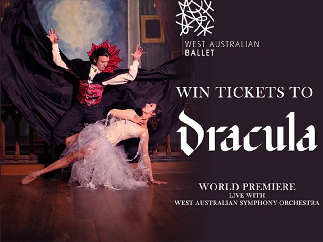 Win tickets to West Australian Ballet's Dracula