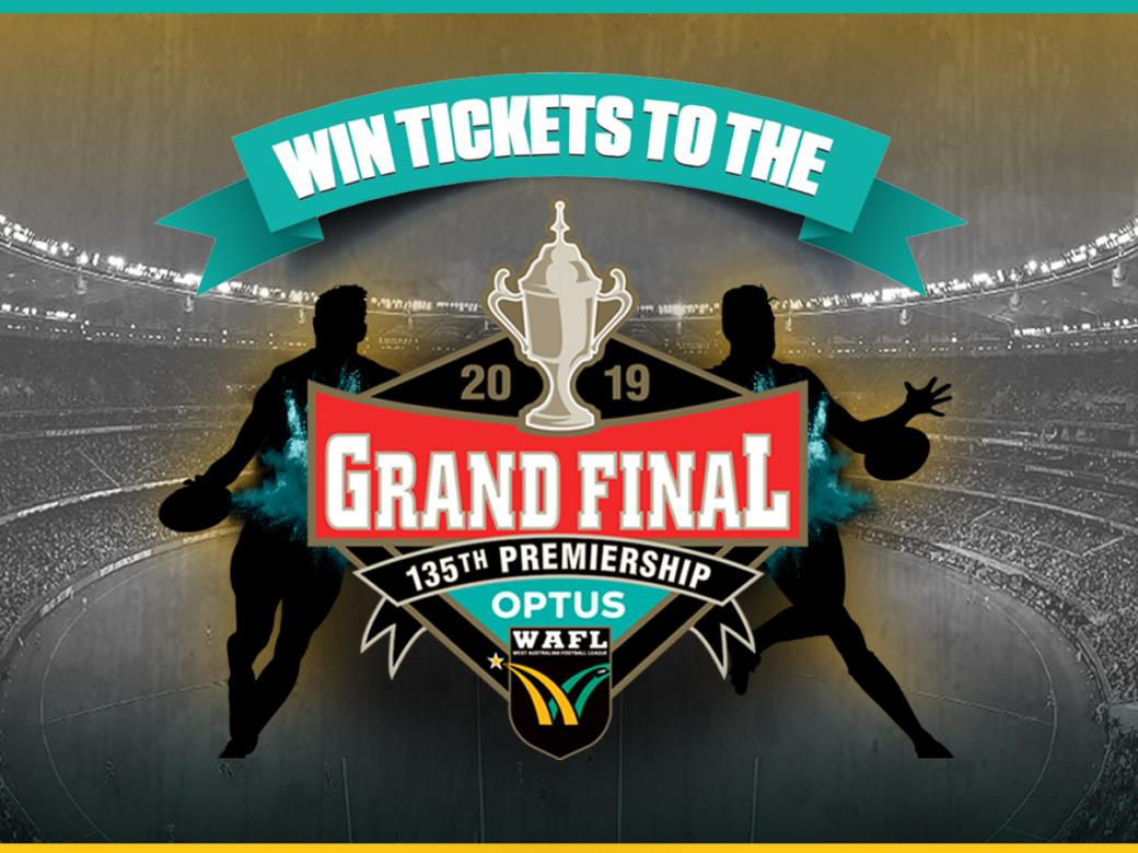 Win Tickets To The 2019 Optus WAFL Grand Final