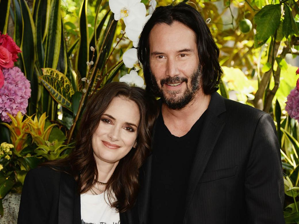 Winona Ryder says she's been married to Keanu Reeves for 25 YEARS