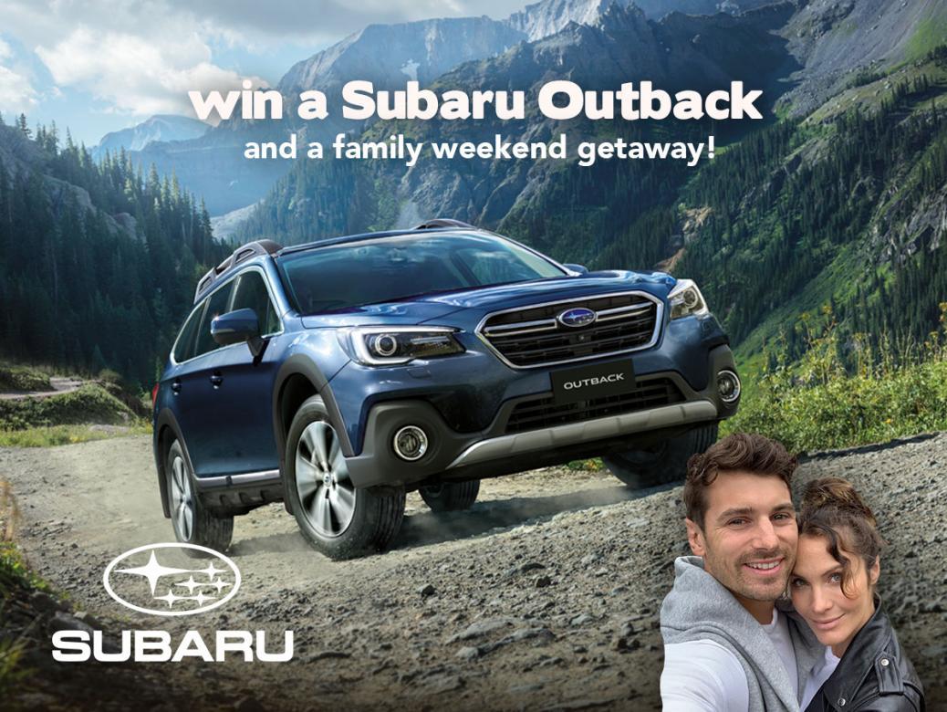 Win A Subaru Outback & A Family Getaway!