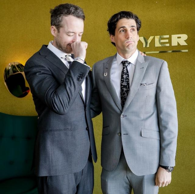 """Why Andy Lee and Hamish Blake are having a """"break"""""""