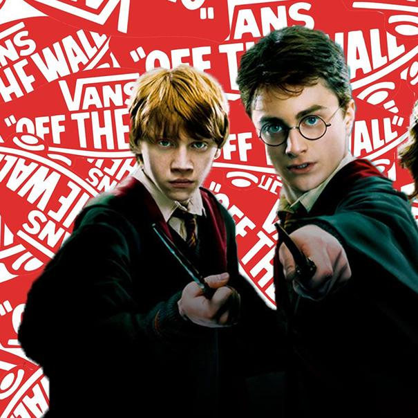Vans Is Releasing A Harry Potter Range So You Can Add Some Magic To Your Wardrobe