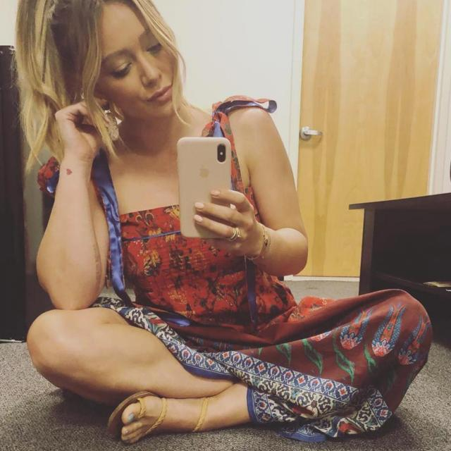 Hilary Duff in huge trouble with Instagram
