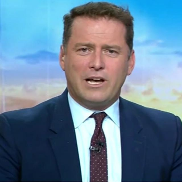 Reports Channel Nine will sack Karl Stefanovic this week