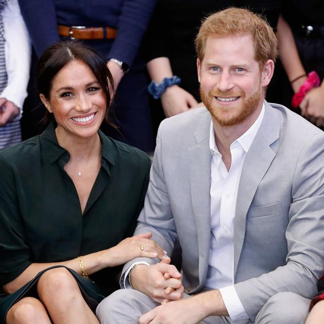 Prince Harry and Meghan Markle's private jet struck by lightning