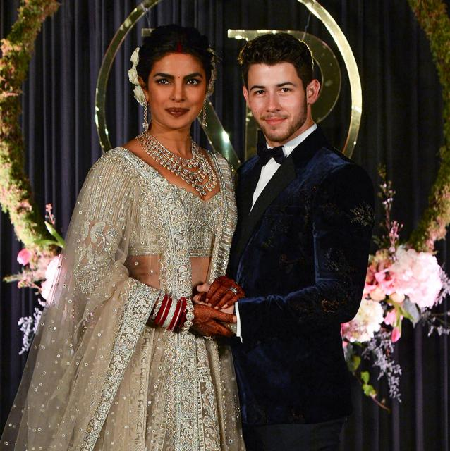 Nick Jonas and Priyanka Chopra release the first official photos of their wedding