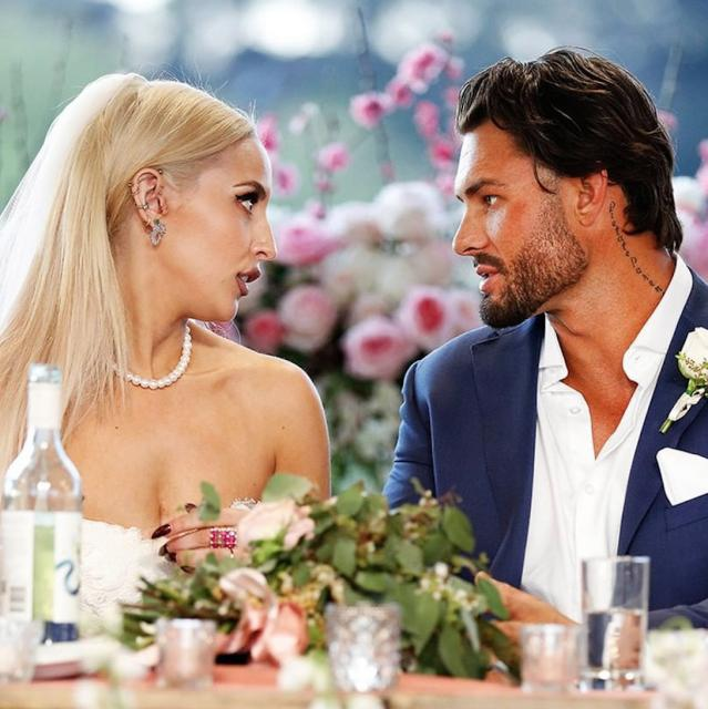 Chart shows the 'success' of MAFS experts and oh god it's AWKWARD