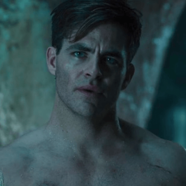 People are freaking out over Chris Pine's full-frontal nude scene