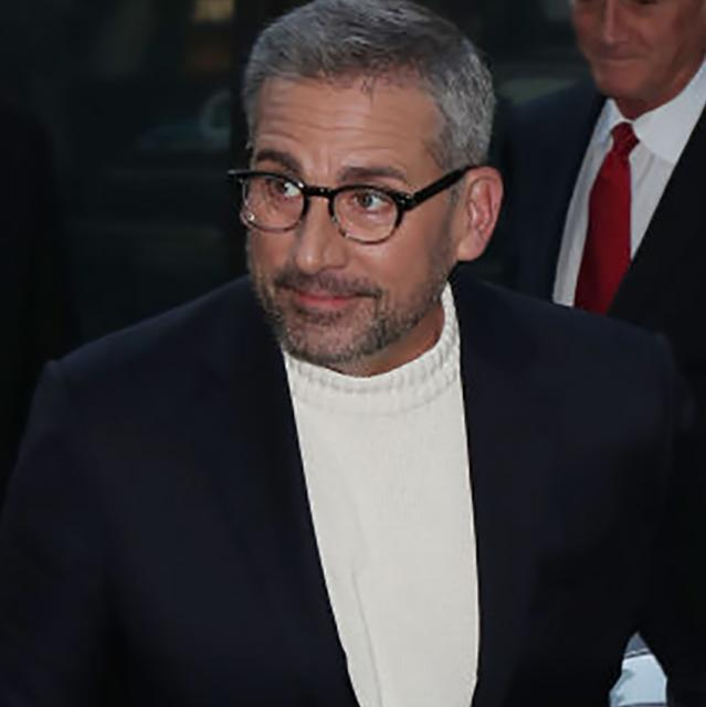 Steve Carell hit by a car while riding his bike