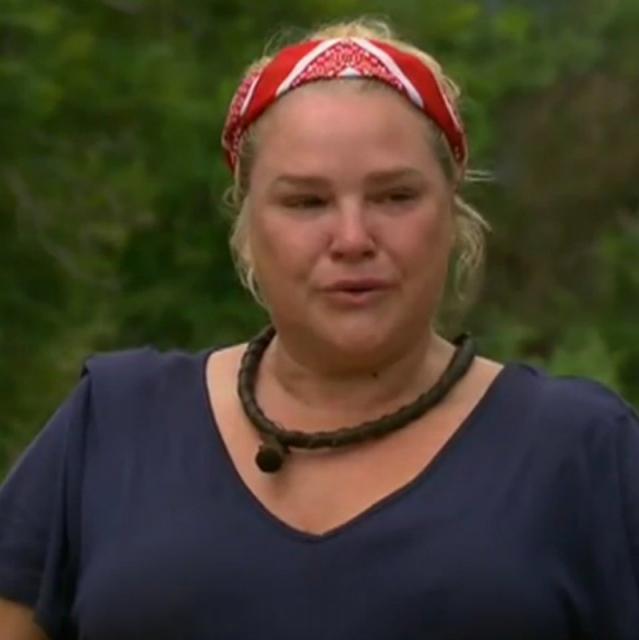 Chrissie Swan backs Yvie's passionate speech in the jungle