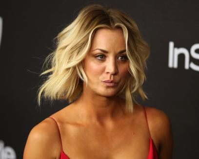 Kaley Cuoco Flashed Her Bare Breast On Snapchat Nova 100