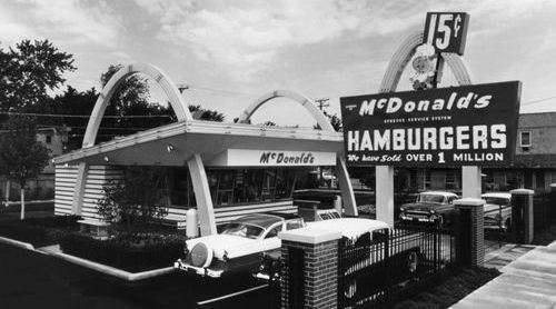 Mcdonald S In The 1950s Compared To Mcdonald S Today