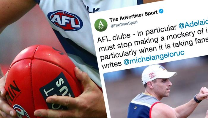 AFL Admits The Umps Made A Few Dud Calls On Thursday Night