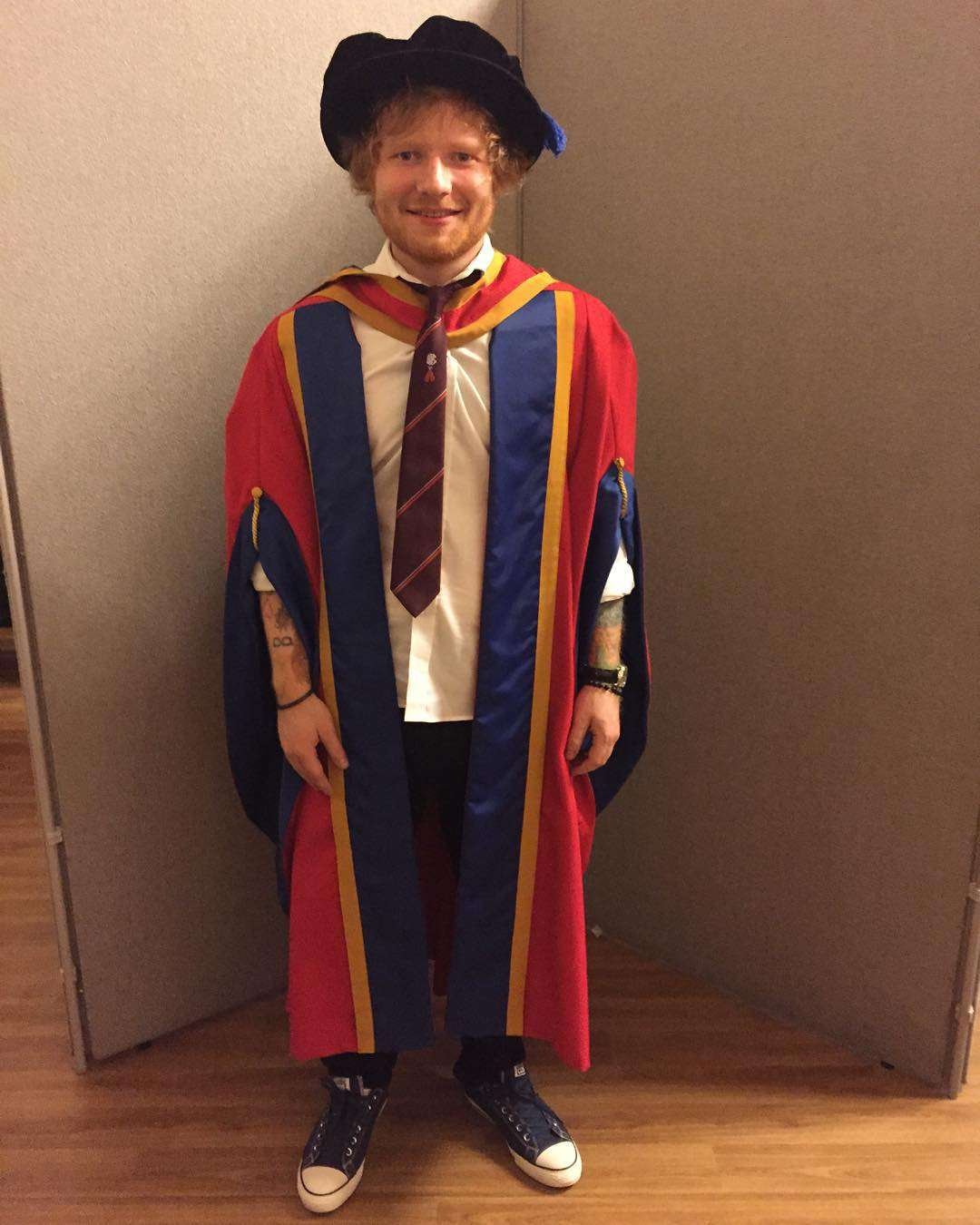 Ed Sheeran is now officially a DOCTOR? | Nova 969