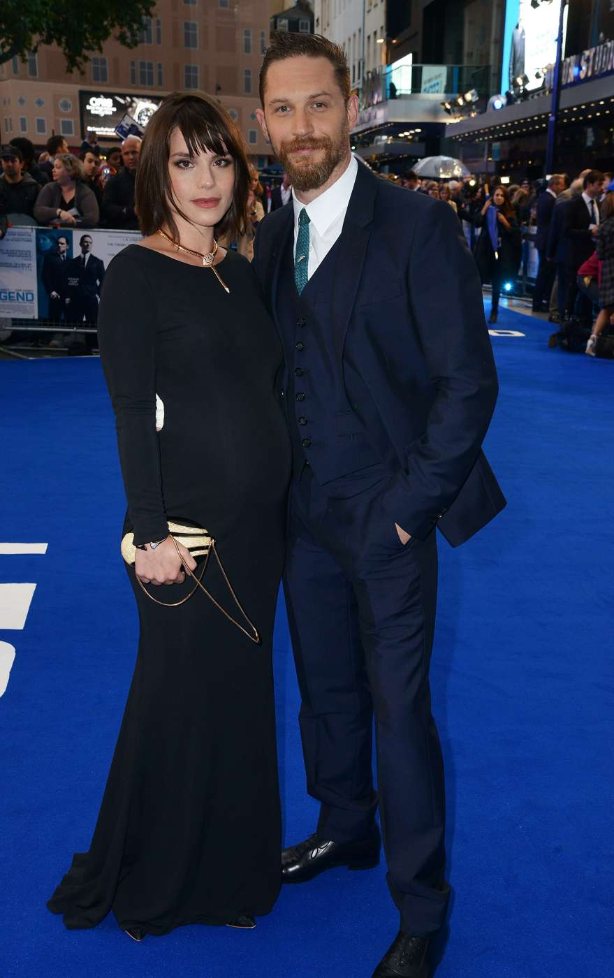 Tom Hardy and his wife just revealed they are expecting ...