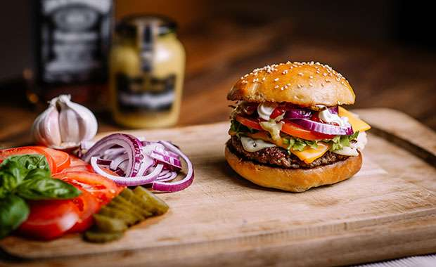 Food And Wine Burger Recipes