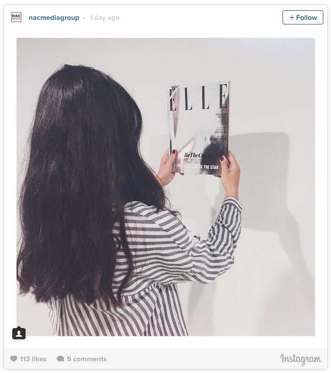 In a controversial move elle magazine have scrapped their for Elle magazine this month