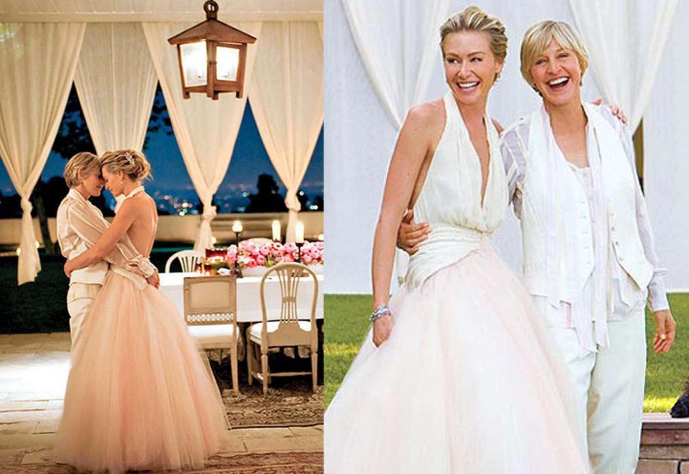 Ellen And Portia Wedding.Ellen Degeneres And Portia De Rossi Are Set To Tie The Knot In
