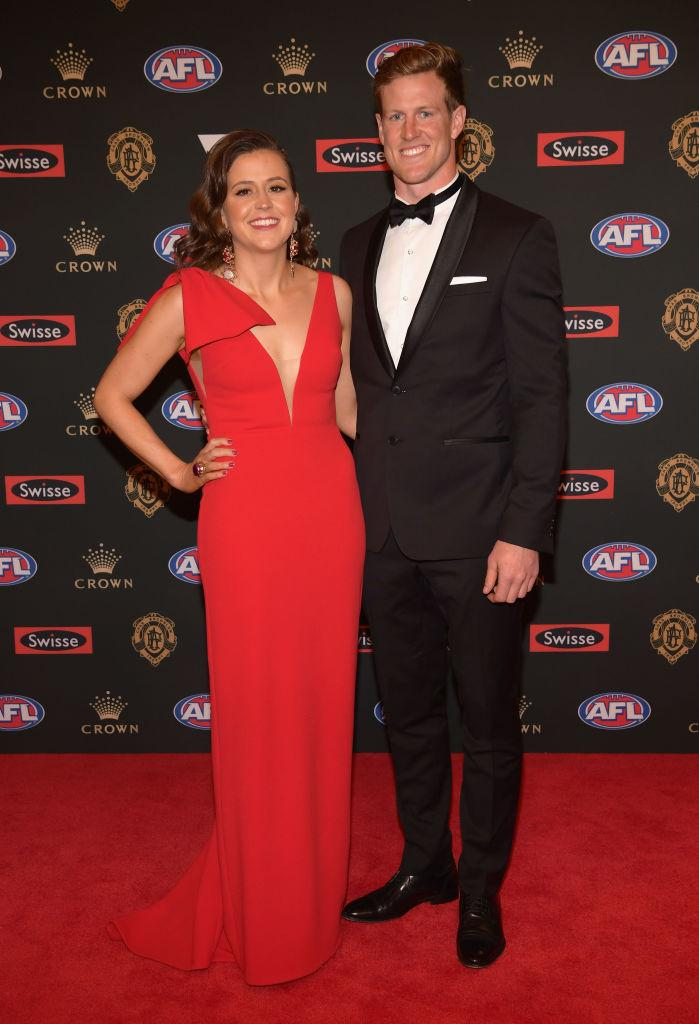 Everyone\'s talking about the barely there dress at the Brownlow ...