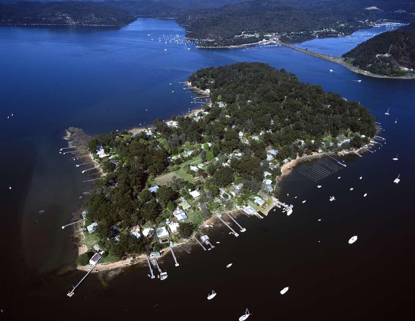 Dangar island nsw