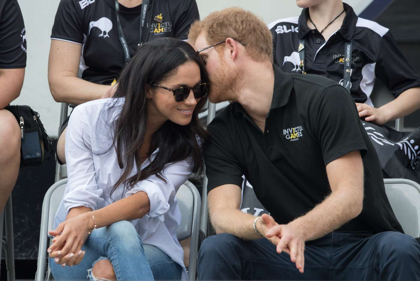 Meghan Markle And Prince Harry Display Serious PDA At Invictus Games