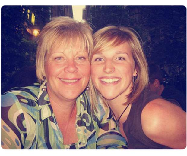 Mum and daughter's recent photo