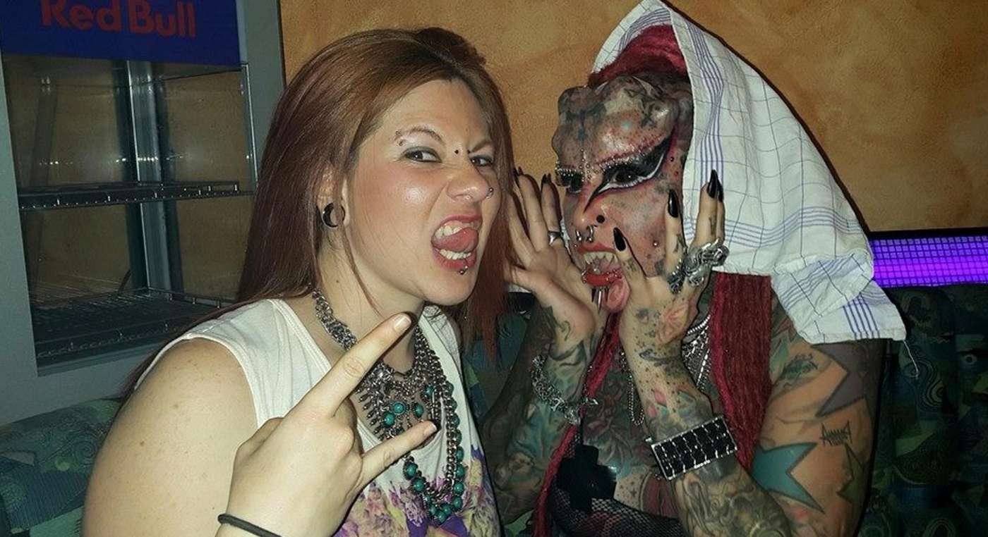 Extreme tattoos and piercings apologise