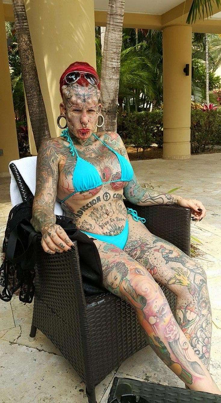 Ex Lawyer And Mother Becomes 'vampire Woman' After EXTREME Tattoo Piercing Makeover  Nova 969