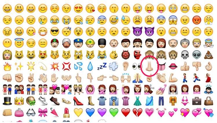 we re all using the nose emoji wrong nova 100