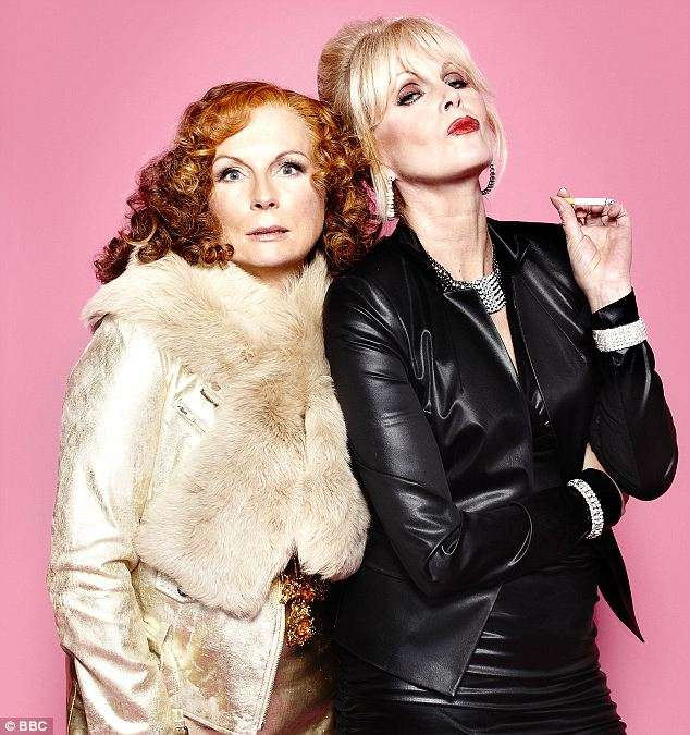 Joanna Lumley reveals huge secret about her Ab Fab alter ...