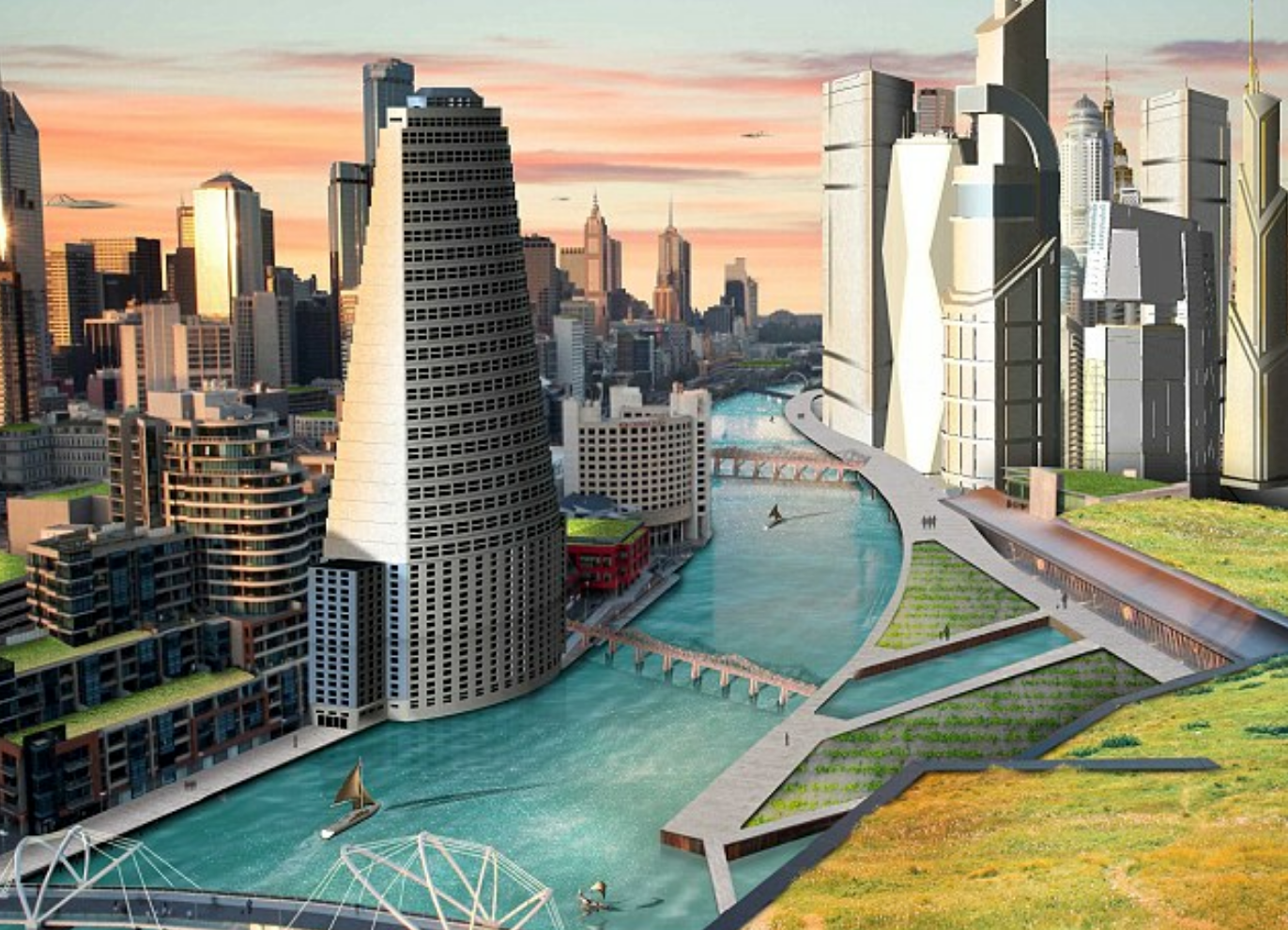 This is what Sydney will look like in 30 years time