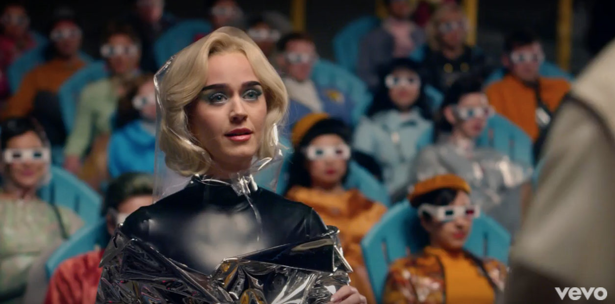 Watch Katy Perrys Hugely Symbolic Chained To The Rhythm Music