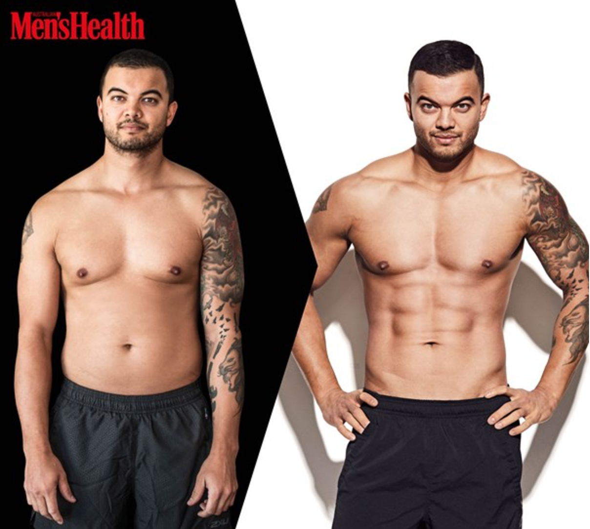 Men S Health: Guy Sebastian Shows Amazing Transformation With Shirtless